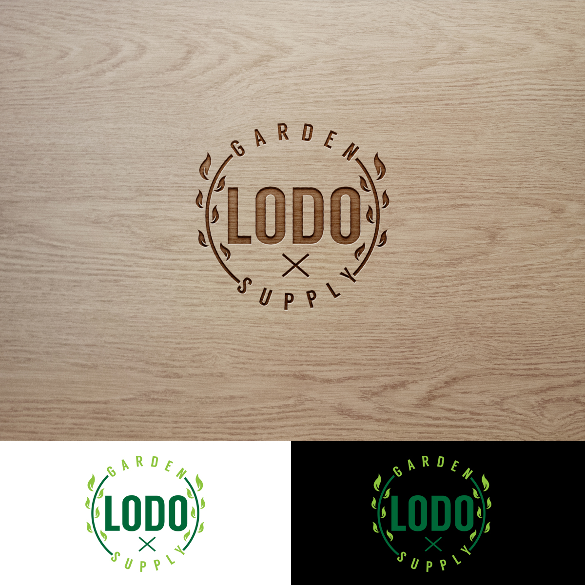 Elegant, Playful, It Company Logo Design for Lodo Garden Supply by ...