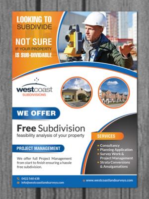 22 Modern Professional Surveyor Flyer Designs for a Surveyor ...