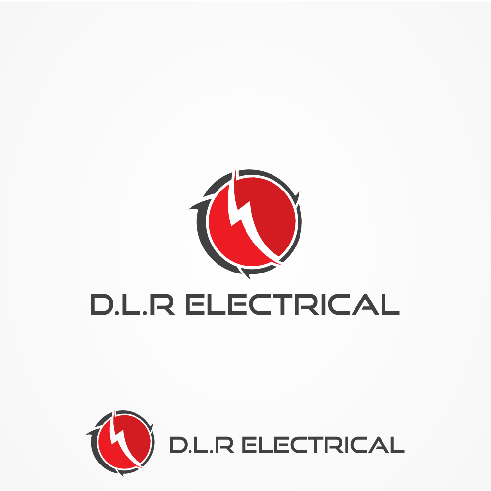 Contractor logo design for d l r electrical by mdesign for D for design