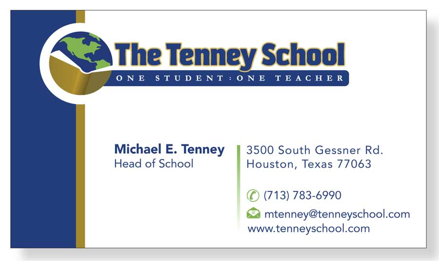 Serious, Traditional Business Card Design for Michael Tenney by ...