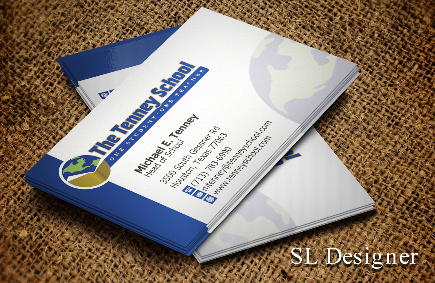 278 Serious Business Card Designs | Education Business Card Design ...