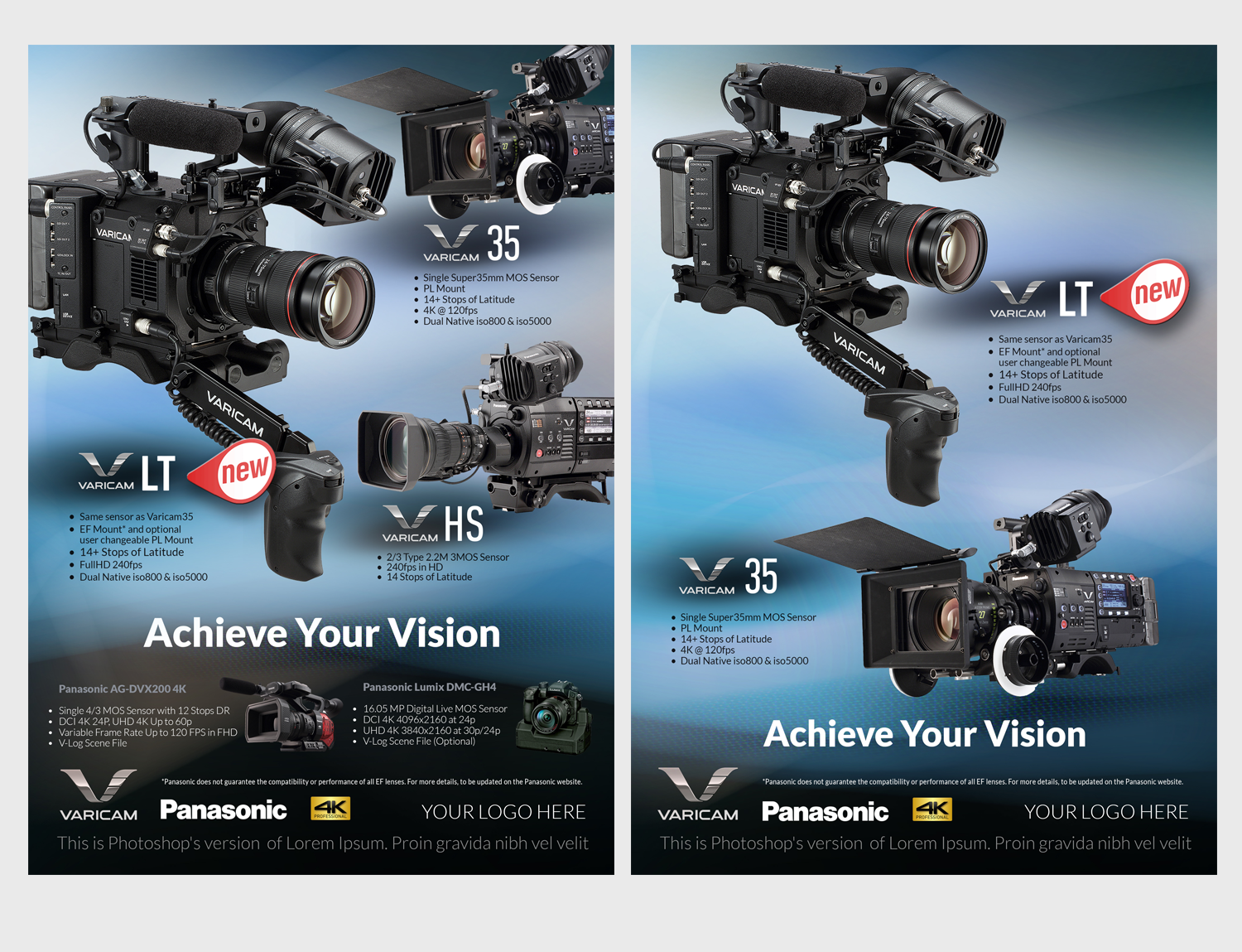 Advertisement Design By See Why For Pro Video Systems