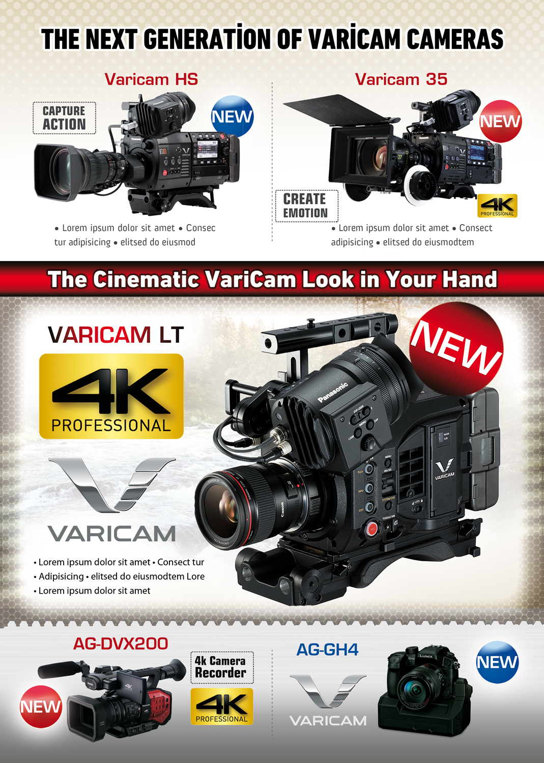 Advertisement Design By UrbainFX For Pro Video Systems
