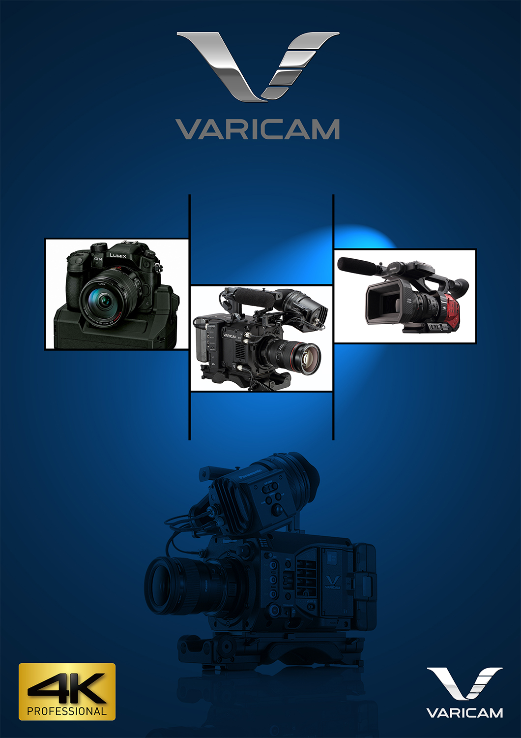 Advertisement Design By Bright Star For Pro Video Systems