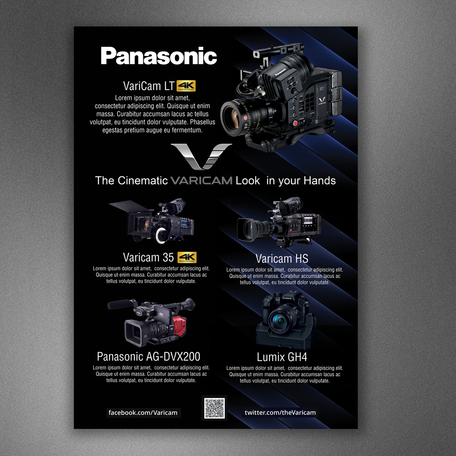 Advertisement Design By Popdesign For Pro Video Systems