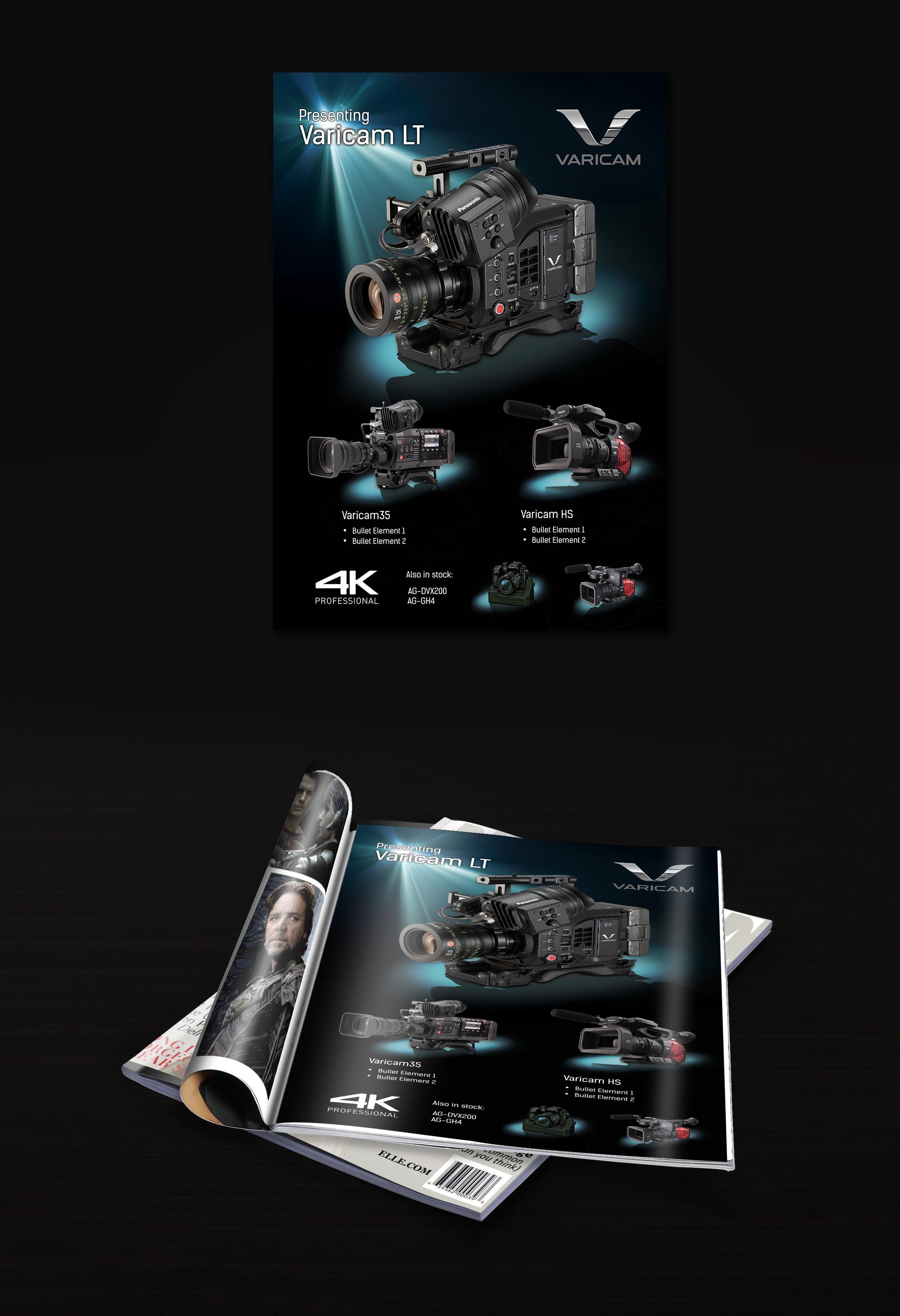 Advertisement Design By Stefannikolovski For Pro Video Systems