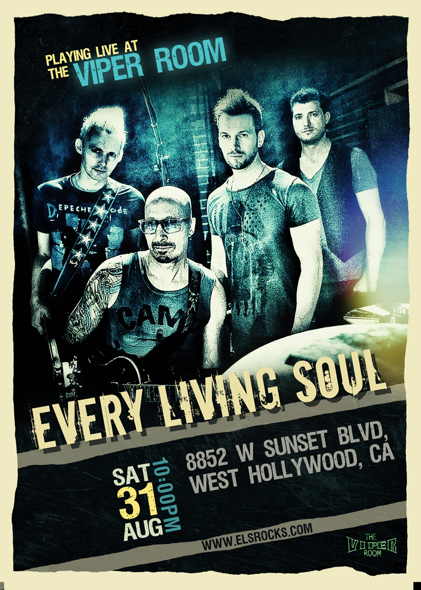 Professional, Bold Flyer Design for Every Living Soul by Clem ...
