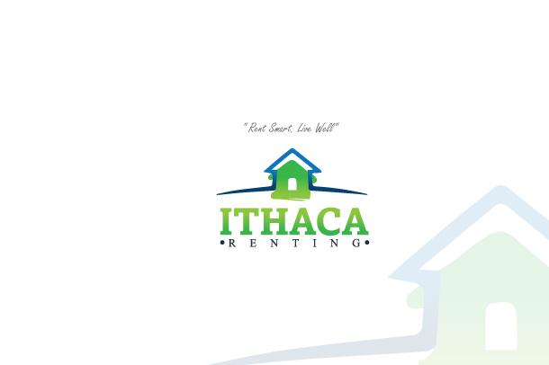 Modern upmarket logo design by artamad tmdesigns for Ithaca t shirt printing