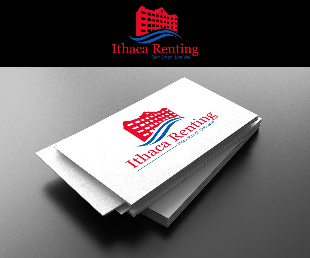 Modern upmarket property management logo design for for Ithaca t shirt printing