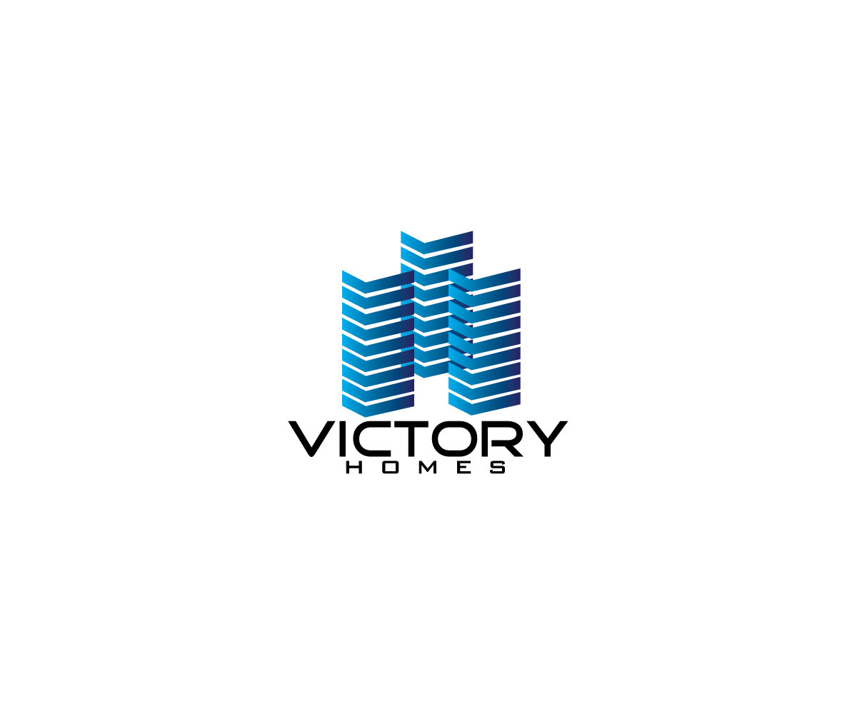 Astonishing Elegant Playful Real Estate Logo Design For Victory Homes Best Image Libraries Counlowcountryjoecom