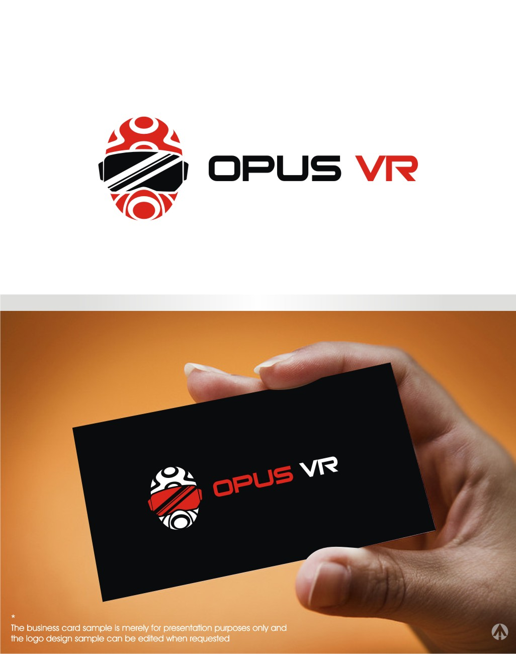 Modern professional software logo design for opus vr by mbaro logo design by mbaro for this project design 9943857 reheart Image collections