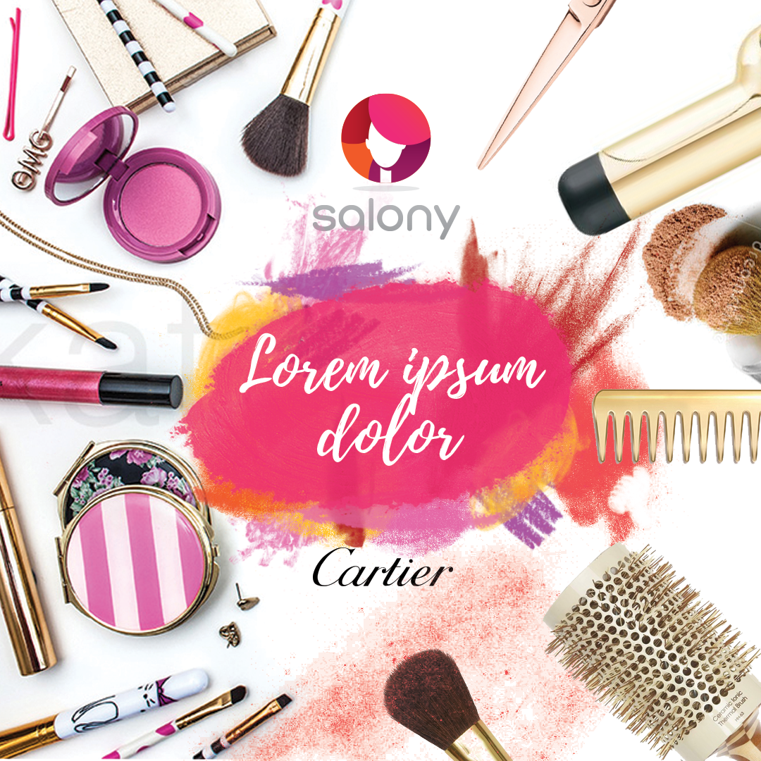 Modern Feminine Beauty Salon Banner Ad Design For A Company By Kristina Andonoff Design 9909584