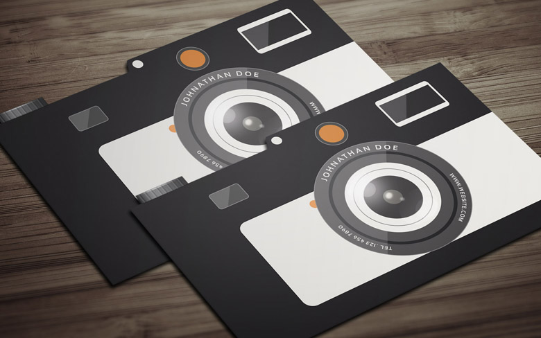 Elegant Playful Business Card Design For LPP Photography By - Photography business cards templates free