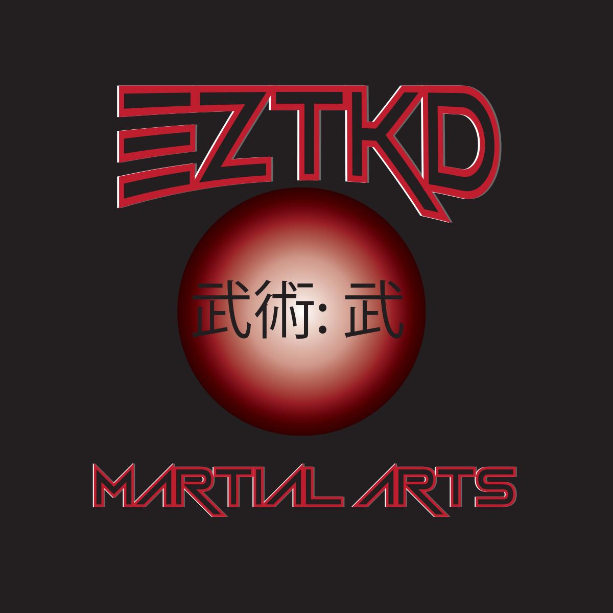 Serious modern martial art logo design for eztkd martial for Logo creation wizard