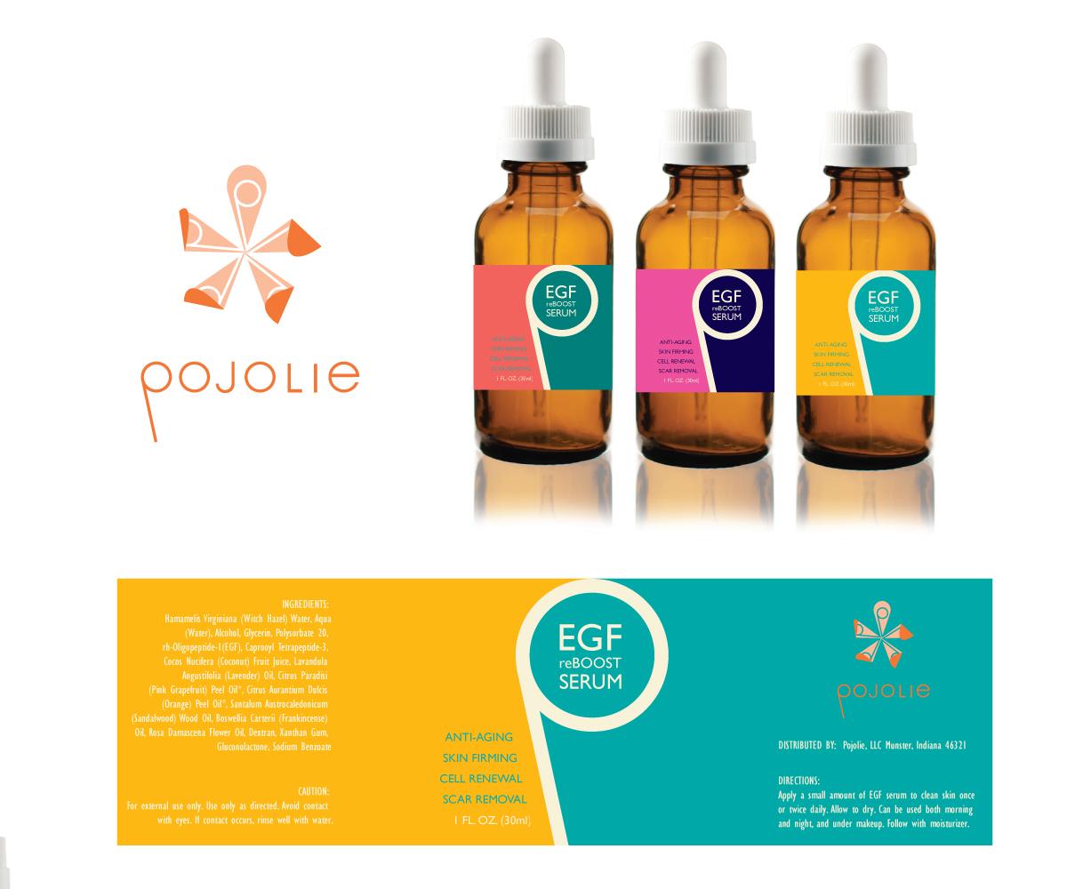 Feminine, Modern, Skin Care Product Packaging Design for