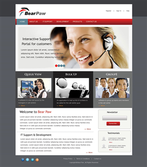 Web Design by pb - New Professional Business Web Site