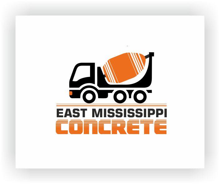 Ready Mix Concrete Logo Design : Modern bold business card design for east mississippi