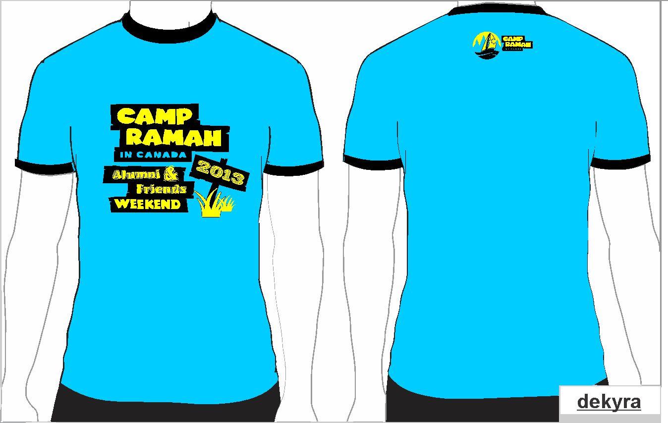Shirt design canada - T Shirt Design Design 2148706 Submitted To Summer Camp Needs An Alumni