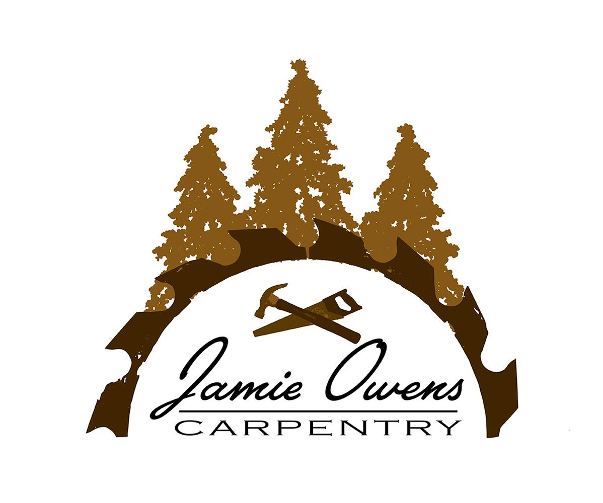 Elegant Playful Carpentry Logo Design For Jamie Owens Carpentry By