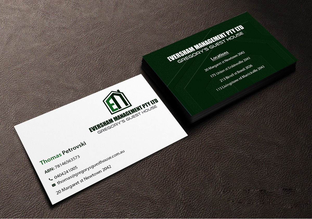 Business business card design for eversham management pl by business business card design for eversham management pl in australia design 9938757 colourmoves Choice Image