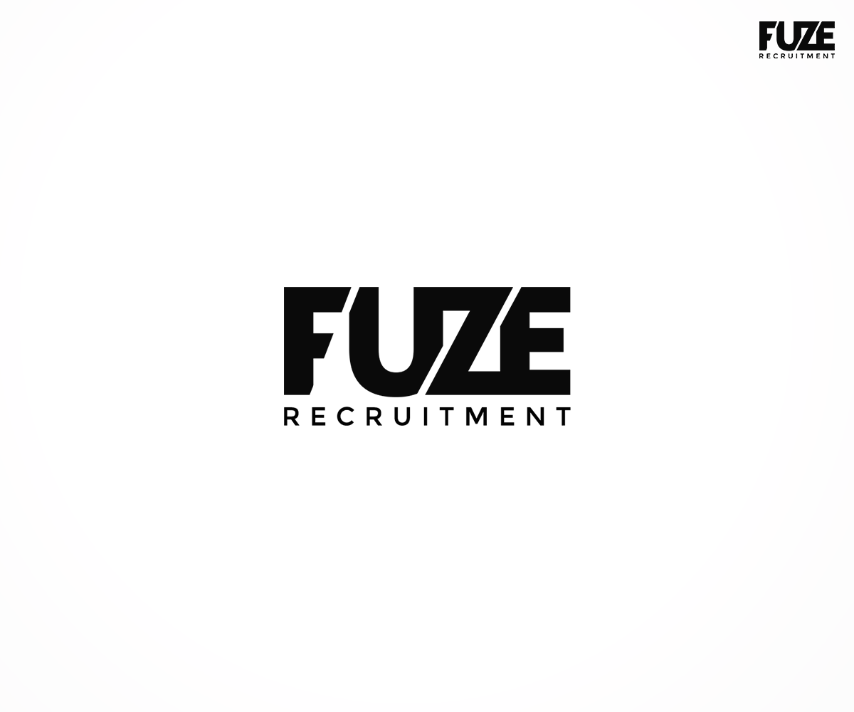311 playful modern employment agency logo designs for fuze for Design recruitment agencies