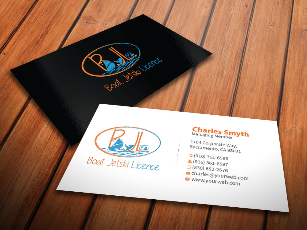 Serious modern business logo design for boat jetski licence by logo design by mediaproductionart for colare pty ltd atf reeve family trust tas boat colourmoves