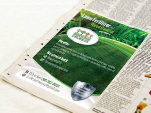25 Bold Playful Lawn Care Newspaper Ad Designs for a Lawn Care ...