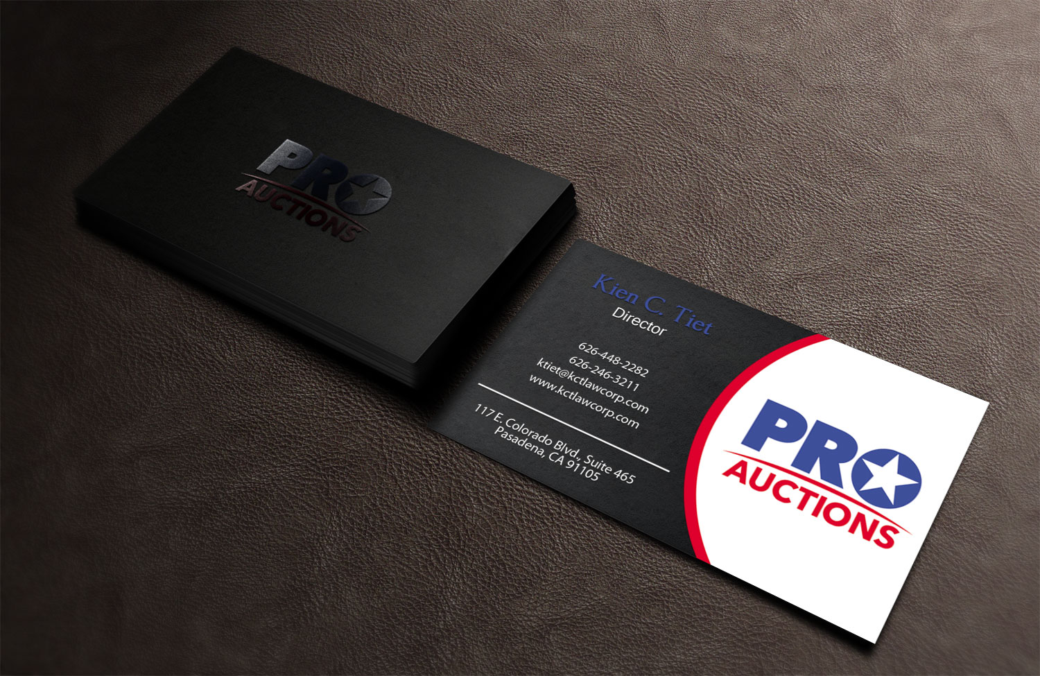 Bold Serious Business Card Design For A Company In United States 9991349