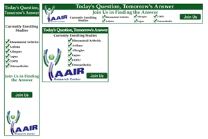 Banner Ad Design by bannersbydesign - Medical Research Web ad banners