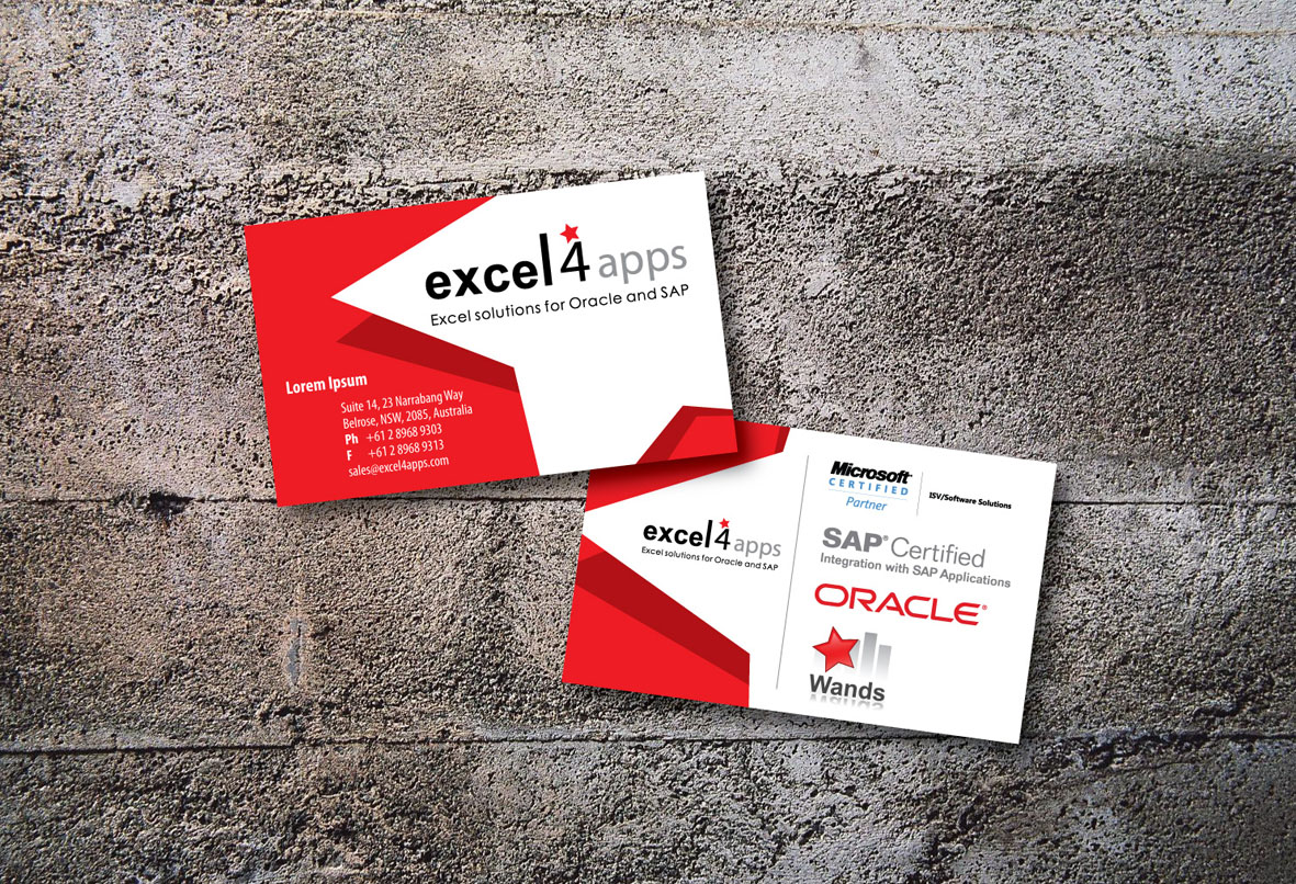 Modern professional electronic business card design for smartware business card design by mafiadesign for smartware group design 471087 reheart Image collections