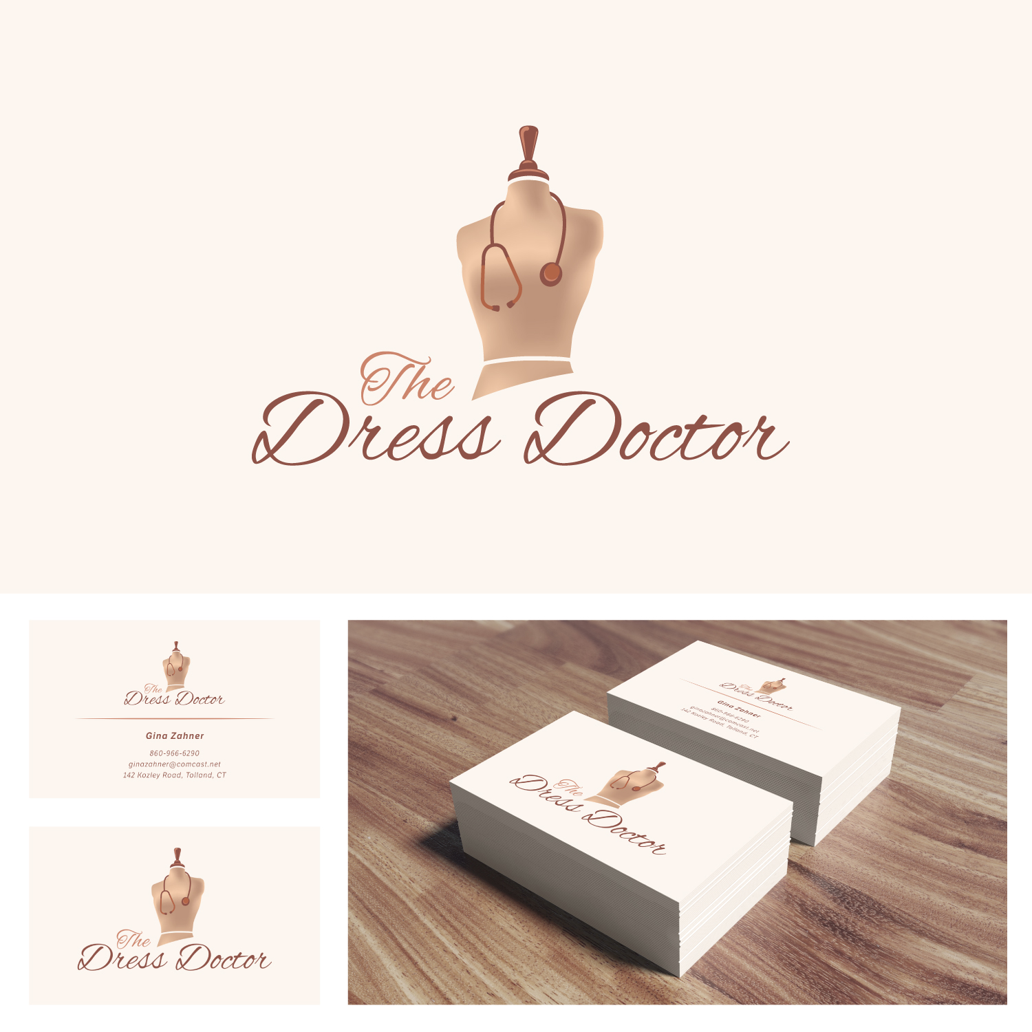 Bold modern professional service business card design for dress bold modern professional service business card design for dress doctor in united states design 10082178 reheart Gallery