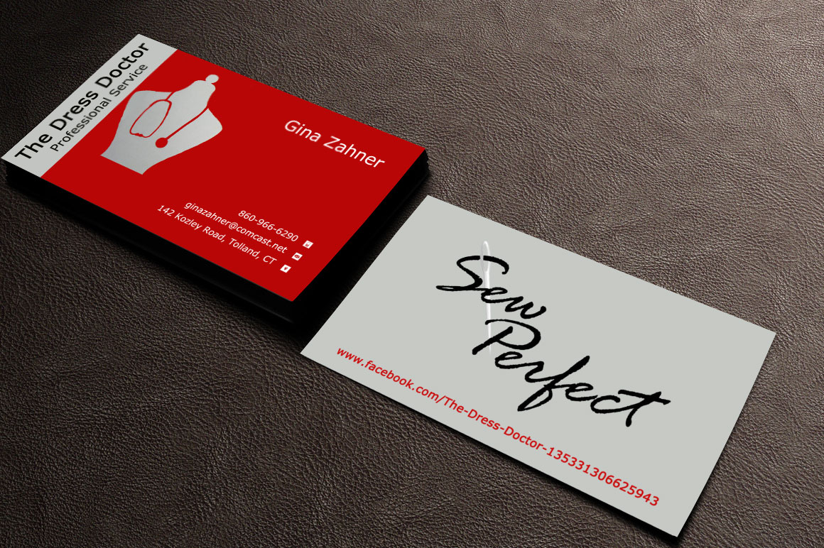 Bold modern professional service business card design for dress bold modern professional service business card design for dress doctor in united states design 10081164 reheart Gallery