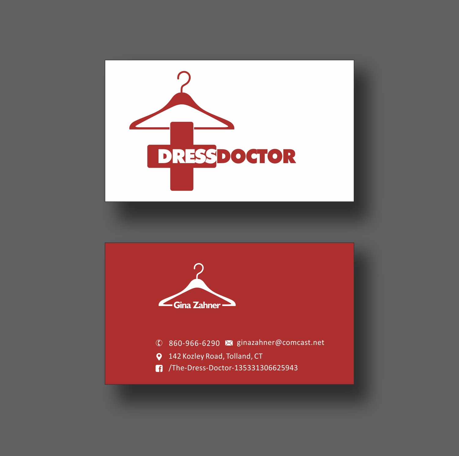 Bold modern professional service business card design for dress bold modern professional service business card design for dress doctor in united states design 10111625 reheart Gallery