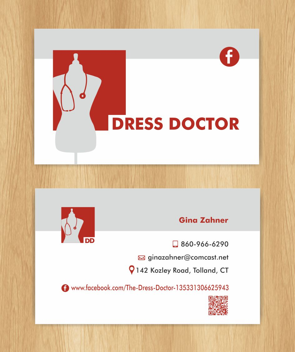 Bold, Modern, Professional Service Business Card Design for Dress ...