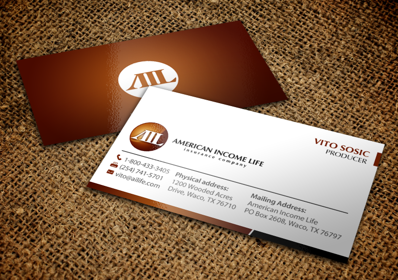 Serious professional business business card design for a company business card design by chandrayaaneative for this project design 10073952 reheart Images