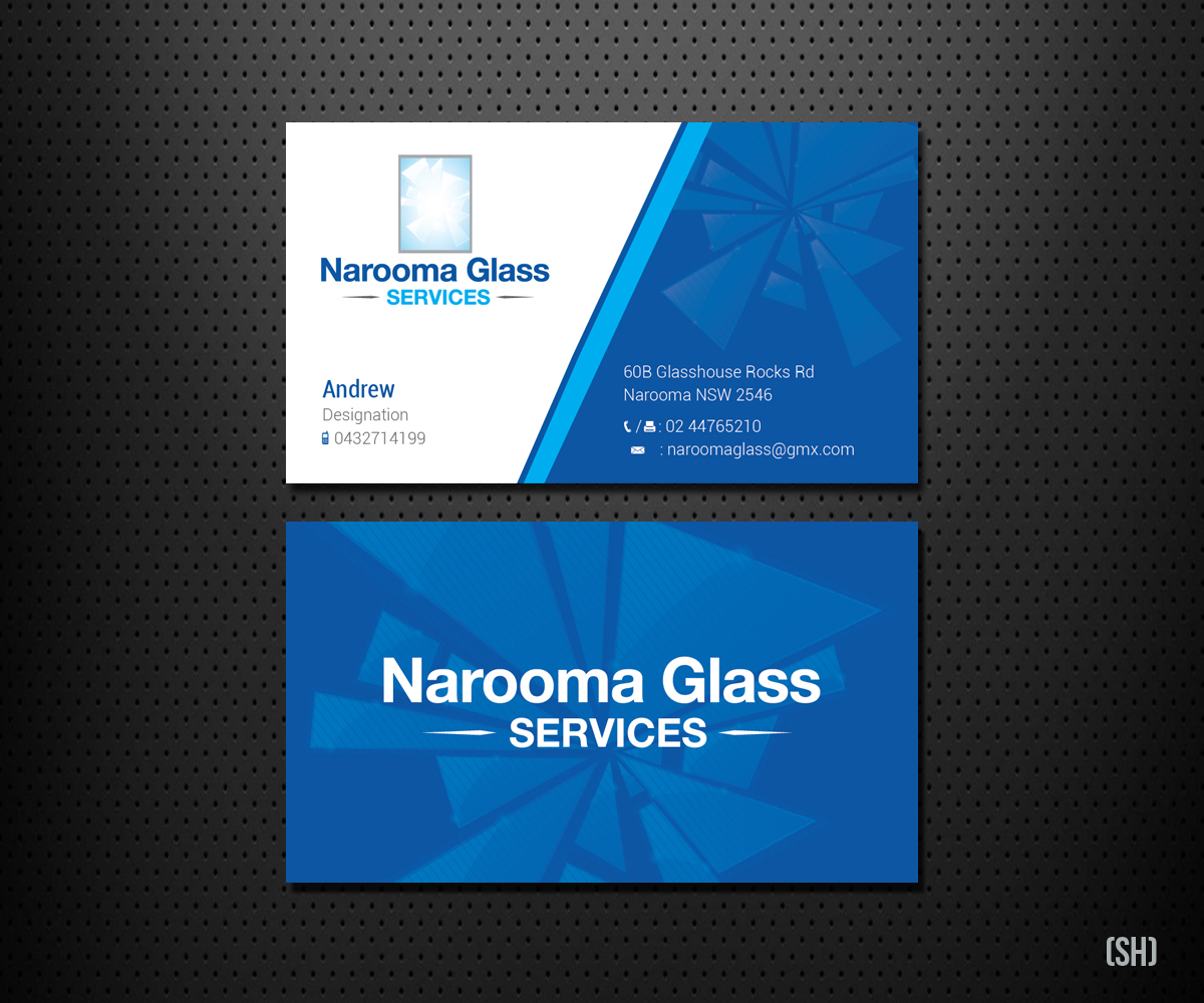 Glass company business cards idealstalist glass company business cards colourmoves