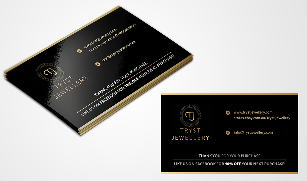 Conservative, Modern, Store Business Card Design for a Company by ...