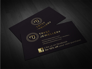 conservative modern business card design design for derek