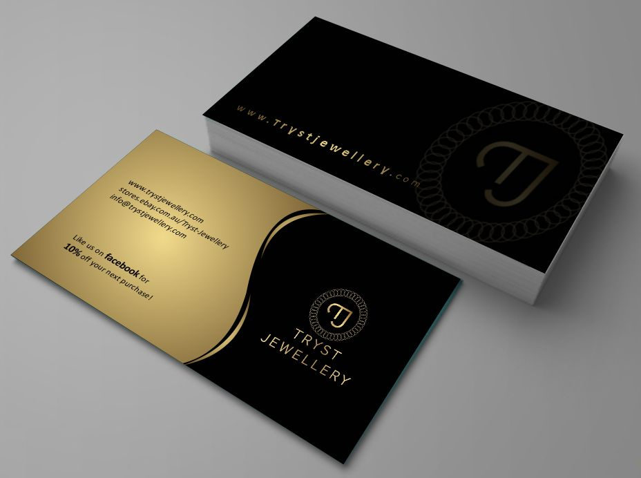 Conservative modern store business card design for a company by business card design by zarnab for this project design 2158284 reheart Images