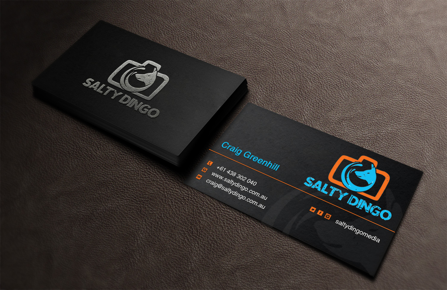 Upmarket, Bold, Professional Photography Business Card Design for ...