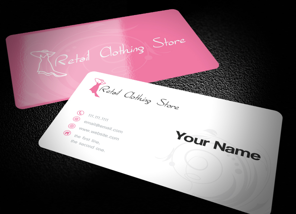 Clothing business card design for mee by design design 10147772 business card design by design for mee design 10147772 reheart Choice Image