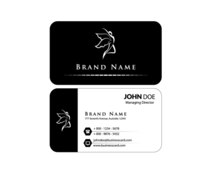 18 business card designs clothing business card design project for mee business card design by usharani s for mee design 10142570 reheart Choice Image
