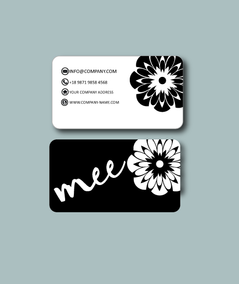 Clothing business card design for mee by pham nguyen for Business card for clothing boutique