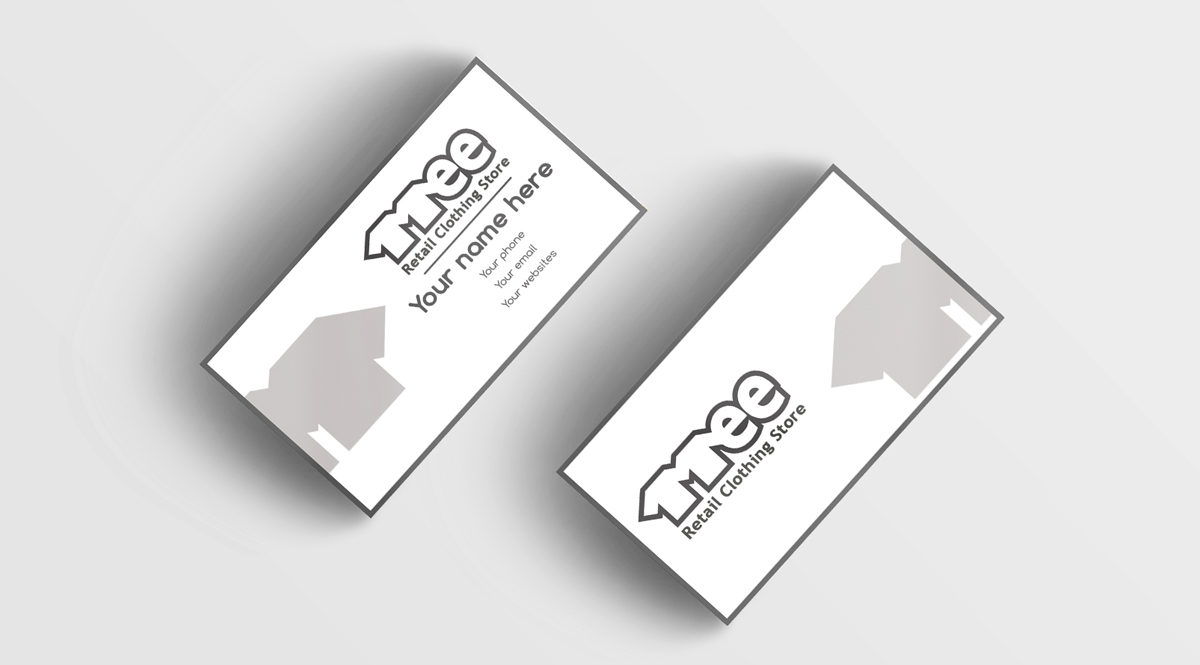 Clothing Business Card Design for mee by Regur | Design #10168966