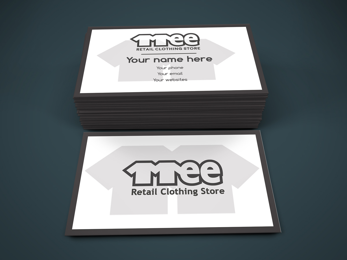 Clothing Business Card Design for mee by Regur | Design #10175192
