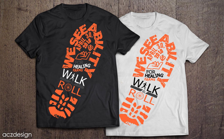 Elegant playful non profit t shirt design for a company for Non profit t shirt printing