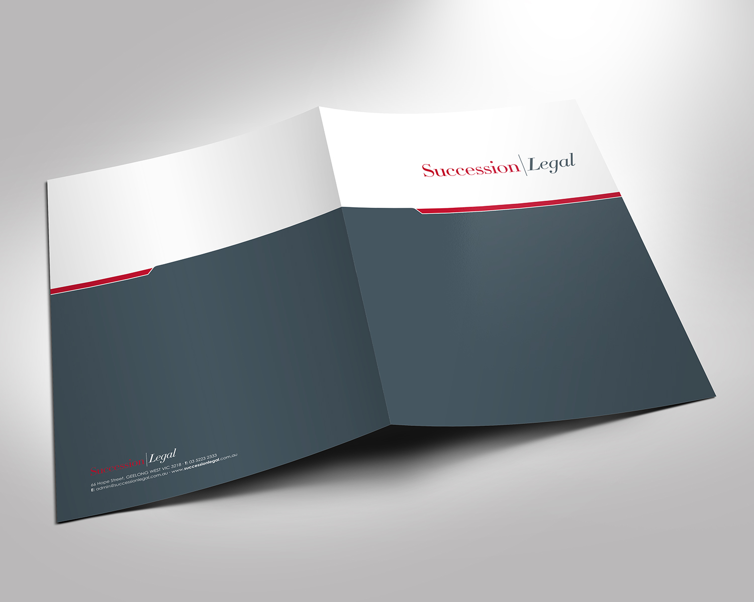 Elegant, Upmarket, Law Firm Stationery Design for a Company by
