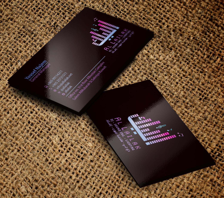 Design De Carte Visite Moderne Professionnelle Media Pour A Company En Aux United States