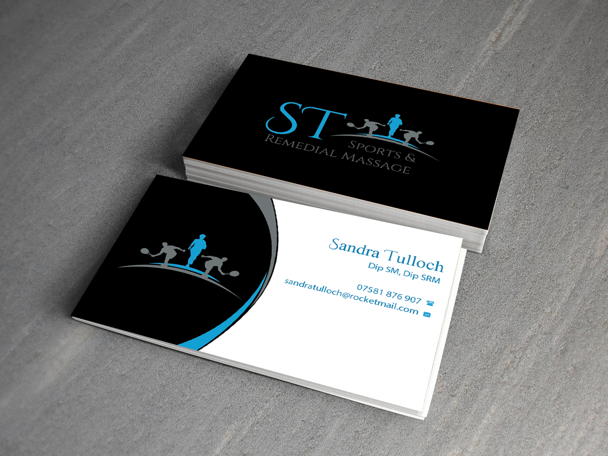 147 Bold Business Card Designs | Health And Wellness Business Card ...