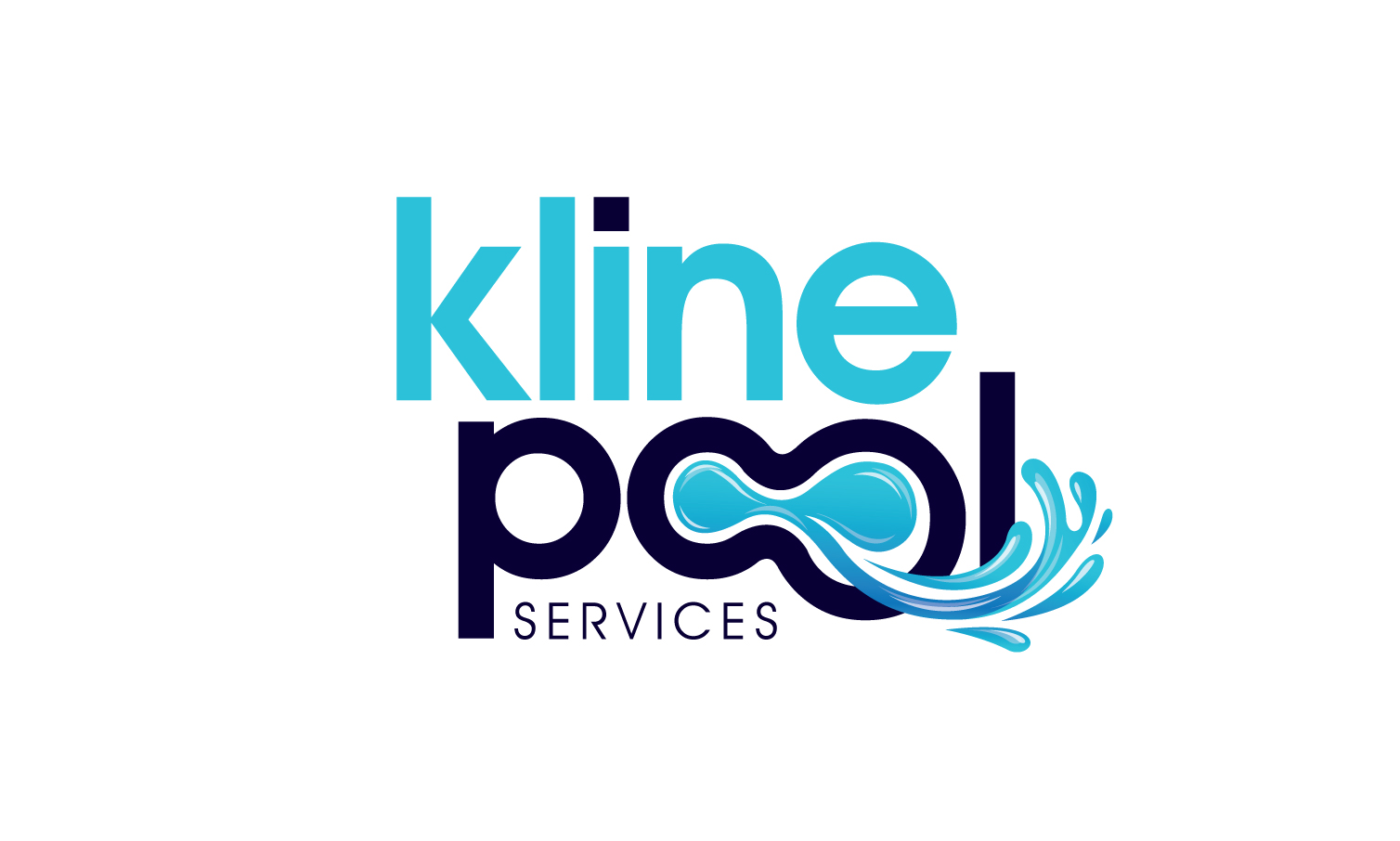 Modern Serious Business Logo Design For Kline Pool
